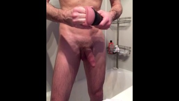 BUY THIS VID FOR A FREE SUB TO MY OF - EDGING WITH A FLESHJACK IN THE SHOWER - WETMELIKEAHP