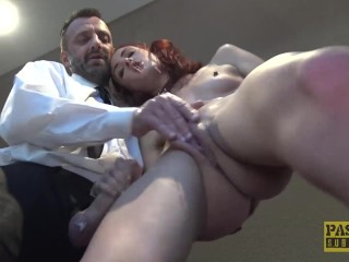 PASCALSSUBSLUTS - Redhead Andi Rye Auditions To Serve Master x video desi