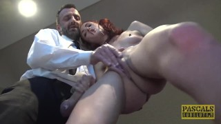 PASCALSSUBSLUTS – Redhead Andi Rye Auditions To Serve Master