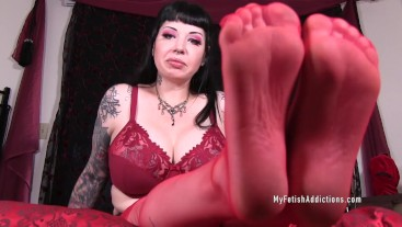 Full Surrender Foot Slave
