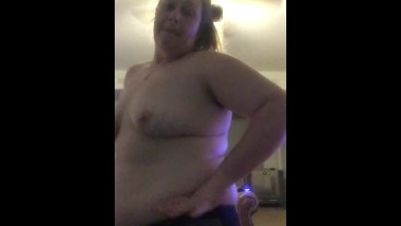 MARIE LEVINE STRIPING DANCE TEASE IN LIVING ROOM