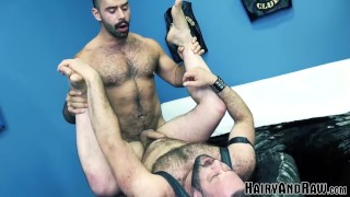 HAIRYANDRAW Hairy Stud Mathieu Angel Smashed Raw By Latino