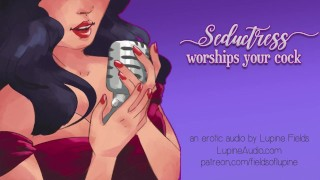 Clip Seductress Worships Your Cock - Ball Draining - EROTIC AUDIO