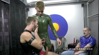 RUBBER MENS' CUT AND BLOW PART ONE
