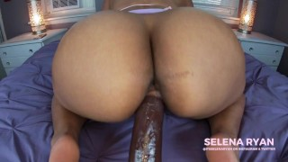 Fat Ass Latina Takes Her First BBC: Dildo Ride – SelenaRyan