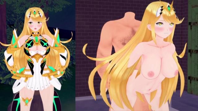 Virtual hentai Vr 360 mythra xenoblade ntr