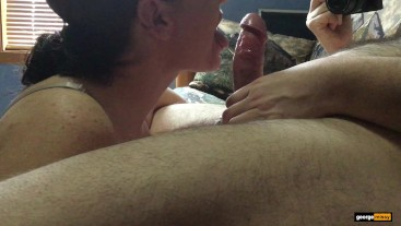 Shooting My Load Into Missy's Mouth - Missy and George Blowjob