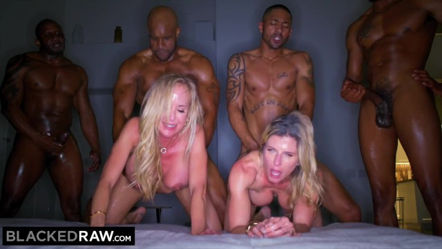 Wives fuck around Blacked raw - these two wives needed more than the usual monthly bbc