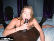 BLACKED RAW -  Her white boyfriend thought she was stuck at work