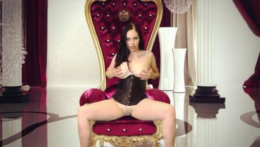 Kneel and worship your Queen! Beg Me to own you!