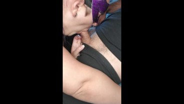 MILF SUCKS MARRIED NEIGHBOR'S DICK