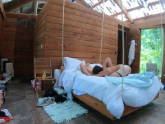 Passionate, Raw Sex On A Swinging Bed