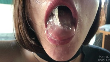 My wife continues to suck even when I cum