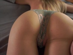 Gorgeous tiny fitness girl fucked by a horny stud - cum on abs  LacyLuxxx