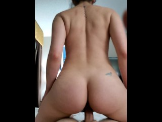 Pussy/reverse young in boyfriend rides