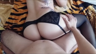 Perfect Wife Big Ass Love Cumshot in Your Face