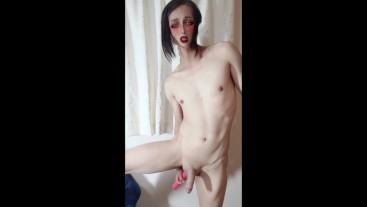 Sissy Japanese big handsfree cum