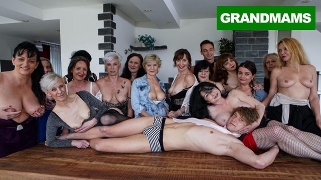 Sex partys porn Biggest granny fuck fest part 1