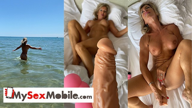 Marina d porn Marina beaulieu, 59 years old, playing with dildo in south france