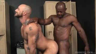 ExtraBigDicks - Aaron Trainer Can't Hide His Huge Boner
