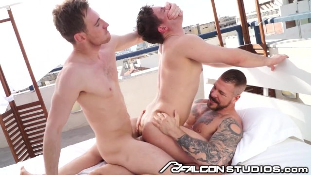 Moses gay porn Ashley ryder picked up by 2 hunks, gets dominated dpd