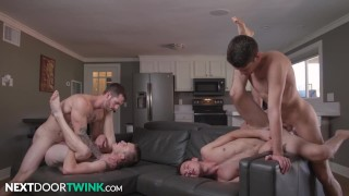 Hottest Twinks Compilation - NextDoorTwink