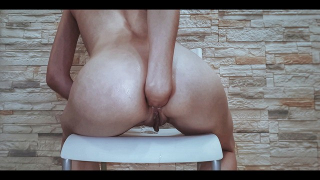 Latin asshole anal Anal slut fucked her ass with her hand and stretched the asshole on the camera / anal, gape, fisting