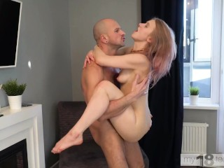 MY18TEENS - Hot dirty fuck with blonde Light Fairy