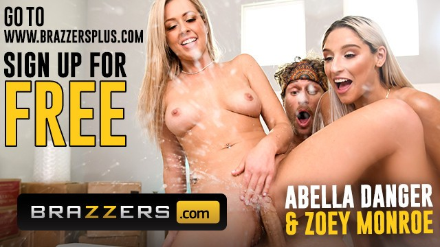 Threesome in truck Brazzers - zoey monroe, abella danger squirt in threesome