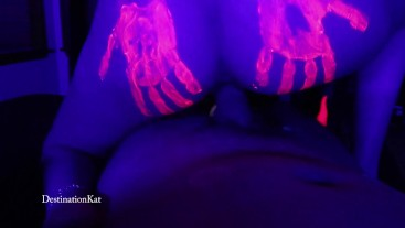 Black Light Blow And Fuck