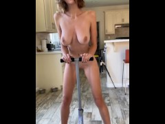 Ass workout: clothes slowly disappear, revealing pussy - hopelesssofrantic   Recorded Cam Show