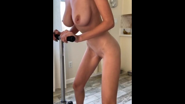 Video clothed female naked male Ass workout: clothes slowly disappear, revealing pussy - hopelesssofrantic