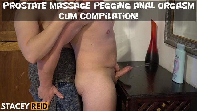 Free anal bbw video Prostate massage pegging anal orgasm cum compilation