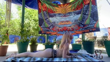 Serene Outdoor Nude Yoga Leads To Explosive Squirt Orgasm- Full Vid on OnlyFans//SereneSiren