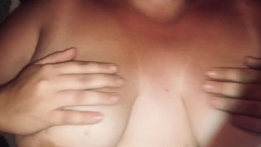 Nipple pinching and Lotion