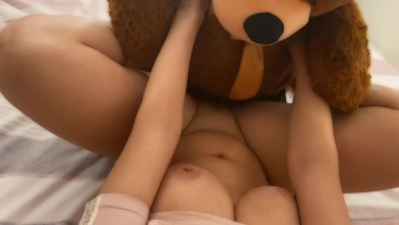 teddy the bear fuck me hard and cum in my mouth full video on my onlyfans for free