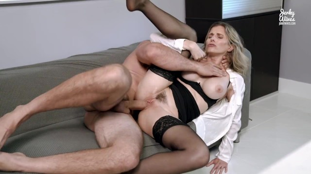 Well hung amateurs 13 Hot office milf seduced into anal by her well hung boss - cory chase