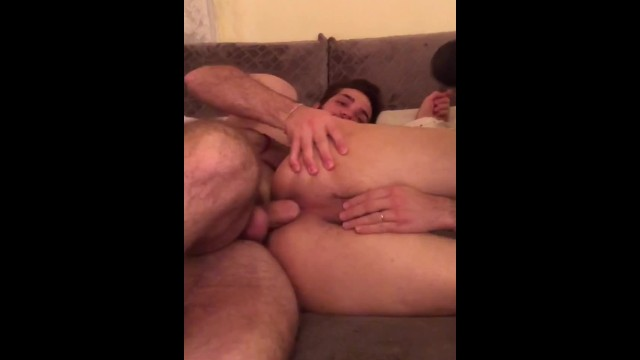 Siit on lap gay fuck tube Wakes up his friend by sitting on his cock - seba terry