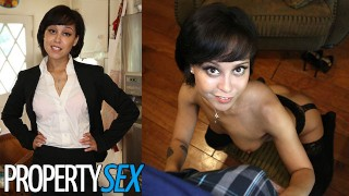 PropertySex Cute Real Estate Agent Makes Sex Video With Client