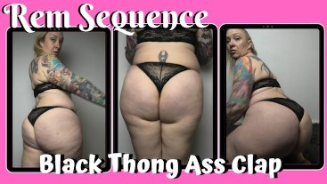 FREE PREVIEW - Black Thong Ass Clap