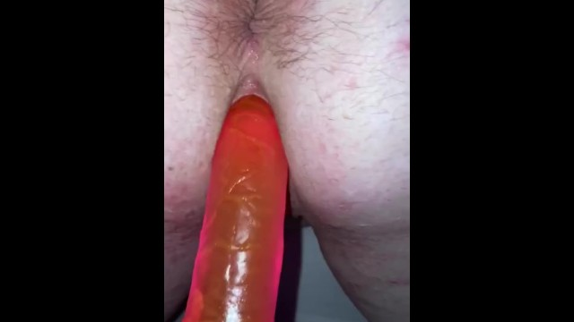 Gaping pussy hole clip Playtime with chubby redhead fuckbuddy...gaping pink pussy hole