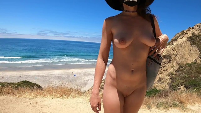 Colista flockhart nude Teaser - nude hike down to the beach
