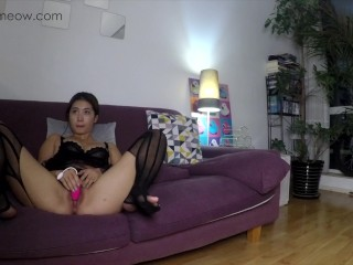 "PornHub Birthday Gift ""MEOWMEOW LONG EDITION CASTING COUCH"" my first time making AV"