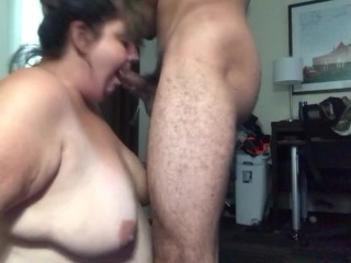 No Fingers Deepthroat Creampie Thick Whore. It went down her throat really easy