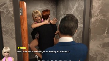 TEMPTATION: Guy Caught His Girlfriend Getting Fucked Hard In A Public Toilet-Ep 11
