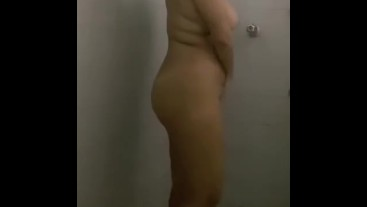 Felt naughty, taking a shower to cool off