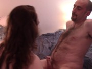 Super Hot Facesitting While Smoking a 120, Fucking, and Creampie