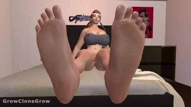 Breast typies Brigittes expansive growth feet expansion, breast expansion, ass expansion, mini gts