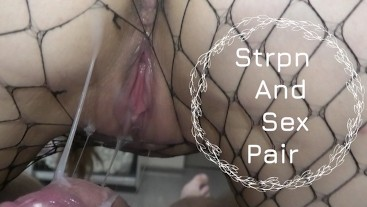 CUM IN PUSSY JUMPING ON HIS COCK, CREAMPIE, POV VIDEO
