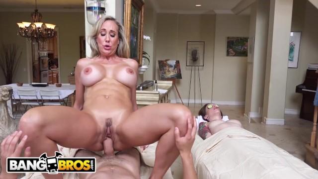 Bang hard pussy Bangbros - sultry milf masseuse brandi love seduces juan el caballo loco